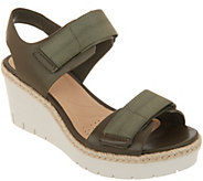 Clarks Artisan Adjustable Wedge Sandals - Palm Shine - A306401