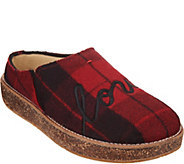 As Is ED Ellen DeGeneres Applique Slippers- Tillie - A310201