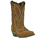 Laredo Leather Cowboy Boots - Saucy - A321001