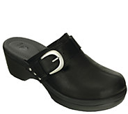 Crocs Leather Clogs - Cobbler Buckle - A335601