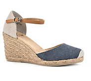 White Mountain Espadrille Wedge Sandals - Mamba - A336501