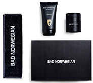 BAD NORWEGIAN Mens Moisturizer, Face Wash with Face Towel - A338901