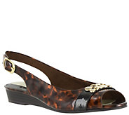 Easy Street Wedge Slingback Sandals - Imprompt - A339101