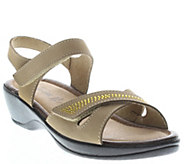 Flexus by Spring Step Leather Sandals - Caric - A339401