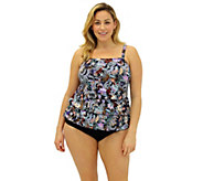 Fit 4 U Ds & Es Cabana Three-Tiered Bandeau Top - A339801