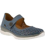 Spring Step Leather Mary Jane Shoes - Malaika - A364001