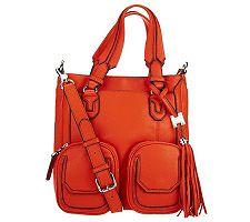 Aimee Kestenberg Leather Shoulder Bag W / front ...