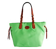 Dooney & Bourke Nylon Shopper with Braided Handles - A234702
