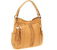 Tignanello Glove Leather Posh Braid Hobo - A252602