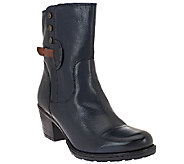 Clarks Artisan Leather Ankle Boots - Maymie Skye - A257402