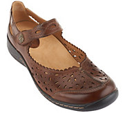 Earth Leather Perforated Slip-on Tanglewood - A262402