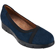 Clarks Artisan Nubuck Leather Slip-On Shoes - Daelyn Hill - A267102