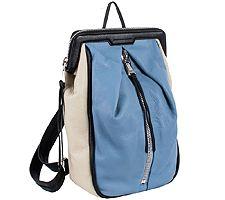 Aimee Kestenberg Pebble Leather Zip Backpack - M...