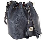 Dooney & Bourke Saffiano Leather Drawstring Bag - A269602