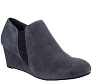 Vionic w/ Orthaheel Orthotic Leather Booties - Stanton - A271202