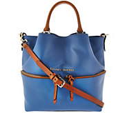 Dooney & Bourke Smooth Leather Dawson Satchel - A275502