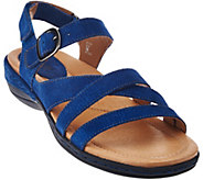 Earth Leather Multi-strap Sandals - Aster - A277102