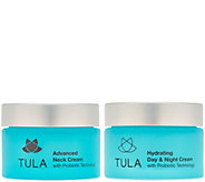 TULA Probiotic Skin Care Day and Night Face and Neck Hydration Duo - A278302