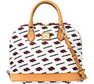 Dooney & Bourke NCAA University of Arkansas Zip Zip Satchel - A283202