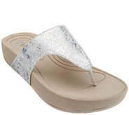 As Is BareTraps Slide Thong Sandals - Galina - A284702