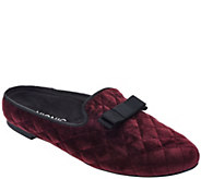 Vionic Orthotic Slip-On Velvet Slippers - Eloise - A293802