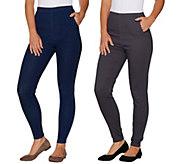 Denim & Co. Pull-On Stretch Denim Leggings - A295502