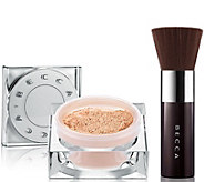 BECCA Soft Light Blurring Powder with Kabuki Brush - A296302