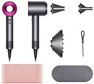 Dyson Supersonic Hair Dryer w/3 Attachments and Case - A297602