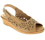 Spring Step Orella Leather Slingback Sandals - A316402