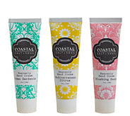 Coastal Salt & Soul Hand Cream Holiday Gift Set - A355602