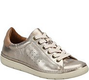 Sofft Leather Lace-up Sneakers - Arianna - A360102
