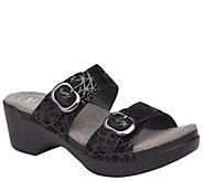 Dansko Leather Slide Sandals - Sophie - A360702