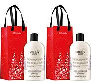 philosophy 3-in-1 shampoo, shower gel & bubblebath duo - A362502
