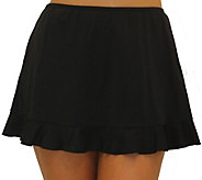 Fit 4 Ur Hips Solid Skirt with Flounce - A363002