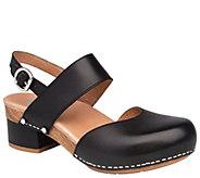 Dansko Closed Toe Leather Mary Janes - Malin - A412402
