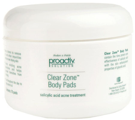 Proactiv Solution Clear Zone Body Pads