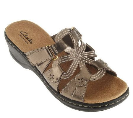 Clarks Bendables Leather Lightweight Sandals Page 1