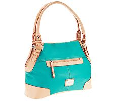 Tignanello Pebble Leather All Star Shopper with Vachetta Trim