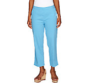 Liz Claiborne New York Regular Pull-On Crop Pants - A253703