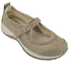 Skechers Suede & Mesh Relaxed Fit Mary Janes - Intergalatic
