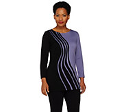 Project Runway by Dmitry Sholokhov Swirl Embroidered Tunic - A264703