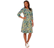 Liz Claiborne New York Heritage Collection Crepe Dress