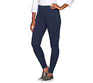 Isaac Mizrahi Live! SOHO Pull-On Knit Leggings - A267503