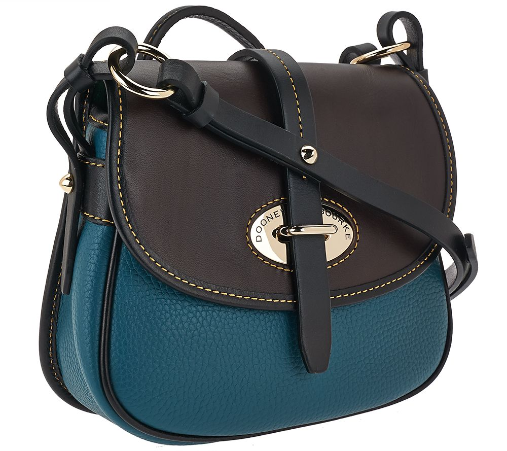 Dooney Bourke Verona Leather Cristina Crossbody Bag Page 1 Qvc