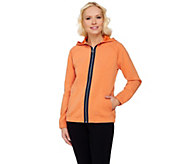 Linea Leisure by Louis DellOlio Zip Front Hoodie - A270903