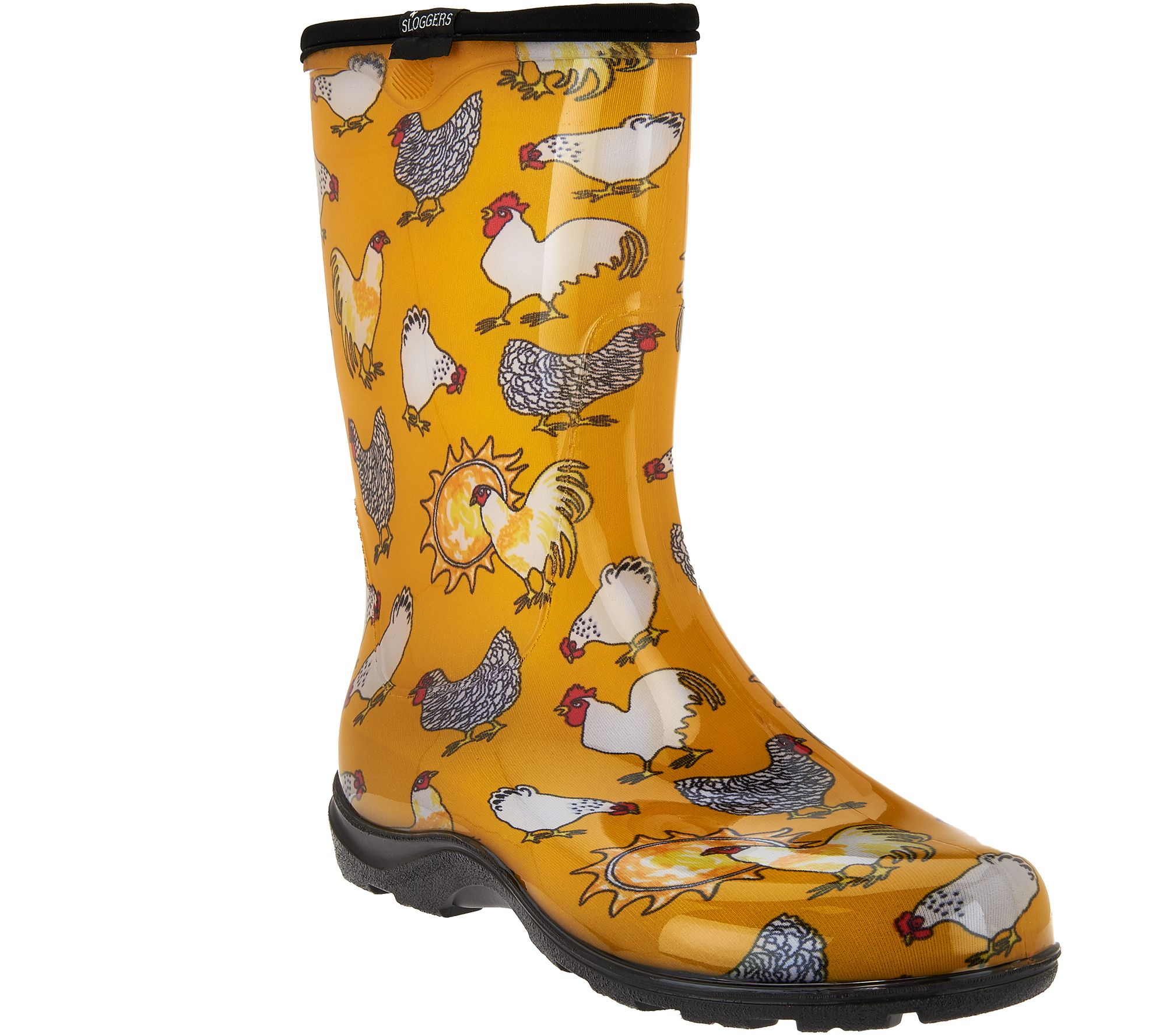 Womens Yellow Chicken Sloggers Waterproof Garden Shoes Outlet Shop Size 39