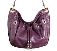 As Is orYANY Italian Grain Leather Crossbody Bag - Celine - A280203
