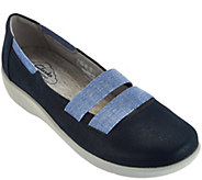 As Is Clarks Cloud Steppers Slip-on Sneakers - Sillian Rest - A286603