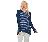 Cuddl Duds Ultra Soft Comfort Wrap Over Tunic - A286903