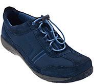 As Is Dansko Stain Resistant Bungee Lace Sneakers - Helen II - A295003